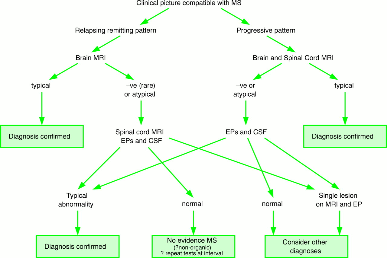 MAKING THE DIAGNOSIS OF MULTIPLE SCLEROSIS | Journal of