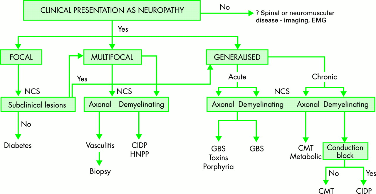 CLINICAL EVALUATION AND INVESTIGATION OF NEUROPATHY