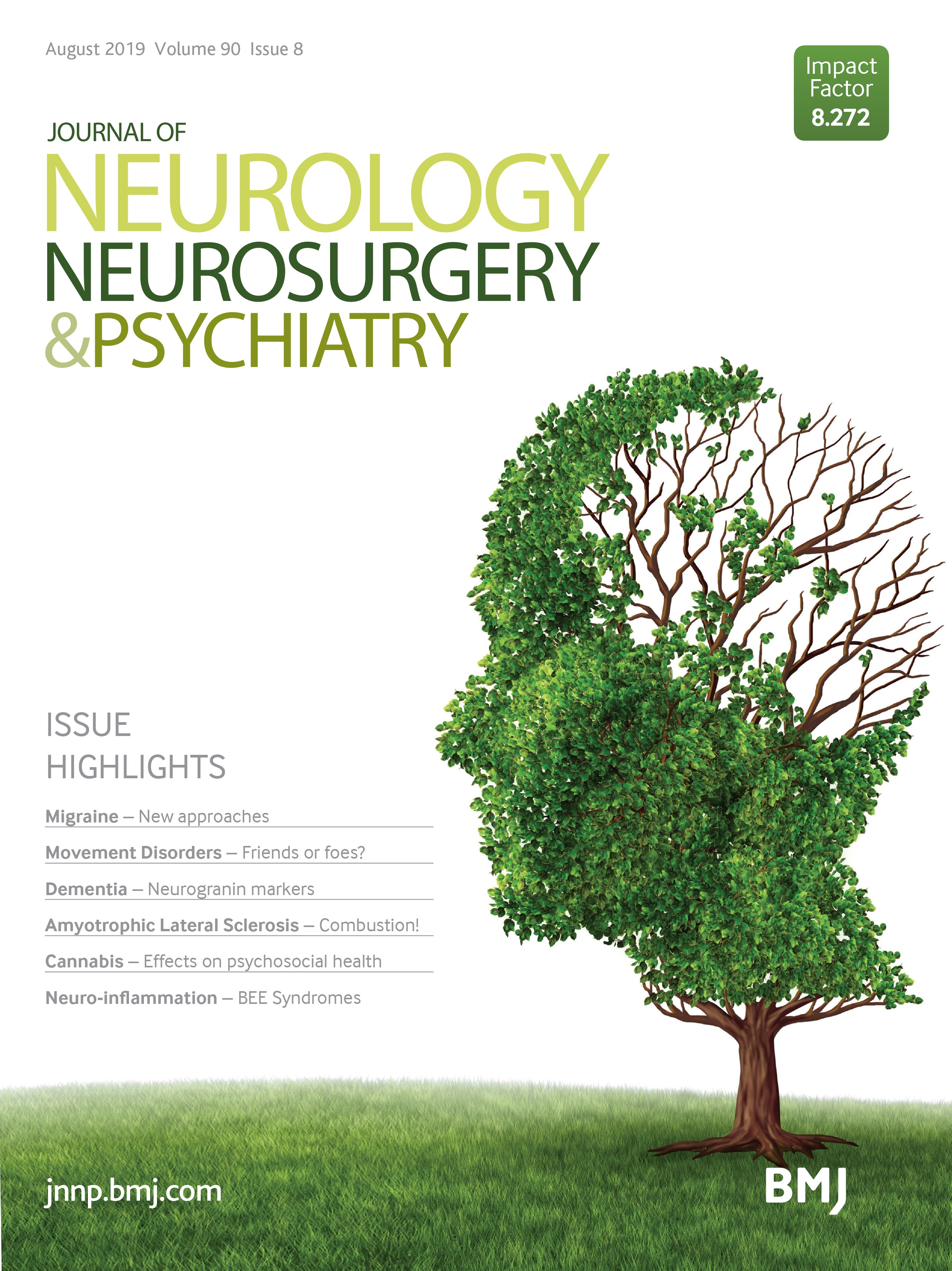 Table of contents | Journal of Neurology, Neurosurgery & Psychiatry