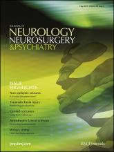 Journal of Neurology, Neurosurgery & Psychiatry: 82 (5)