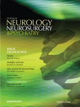 Journal of Neurology, Neurosurgery & Psychiatry: 83 (11)