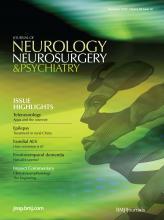 Journal of Neurology, Neurosurgery & Psychiatry: 83 (12)