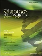 Journal of Neurology, Neurosurgery & Psychiatry: 83 (3)
