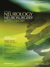 Journal of Neurology, Neurosurgery & Psychiatry: 83 (5)