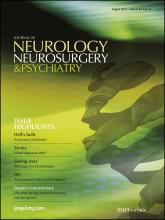 Journal of Neurology, Neurosurgery & Psychiatry: 83 (8)