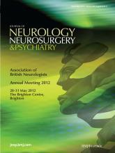 Journal of Neurology, Neurosurgery & Psychiatry: 83 (Suppl 2)