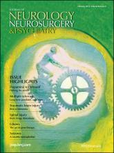 Journal of Neurology, Neurosurgery & Psychiatry: 84 (2)