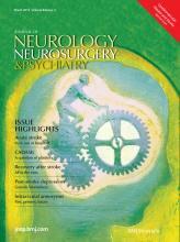 Journal of Neurology, Neurosurgery & Psychiatry: 84 (3)