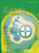 Journal of Neurology, Neurosurgery & Psychiatry: 84 (4)