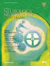 Journal of Neurology, Neurosurgery & Psychiatry: 85 (12)