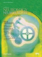 Journal of Neurology, Neurosurgery & Psychiatry: 85 (3)