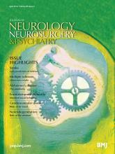 Journal of Neurology, Neurosurgery & Psychiatry: 85 (4)