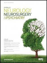 Journal of Neurology, Neurosurgery & Psychiatry: 86 (5)