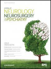 Journal of Neurology, Neurosurgery & Psychiatry: 86 (5)