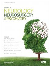 Journal of Neurology, Neurosurgery & Psychiatry: 86 (6)