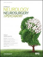Journal of Neurology, Neurosurgery & Psychiatry: 86 (7)