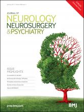 Journal of Neurology, Neurosurgery & Psychiatry: 88 (1)