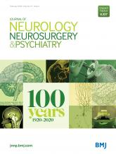 Journal of Neurology, Neurosurgery & Psychiatry: 91 (2)