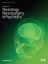 Journal of Neurology, Neurosurgery & Psychiatry: 92 (10)