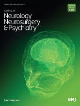 Journal of Neurology, Neurosurgery & Psychiatry: 92 (2)