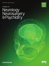 Journal of Neurology, Neurosurgery & Psychiatry: 92 (3)