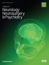 Journal of Neurology, Neurosurgery & Psychiatry: 92 (7)