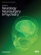 Journal of Neurology, Neurosurgery & Psychiatry: 92 (Suppl 1)